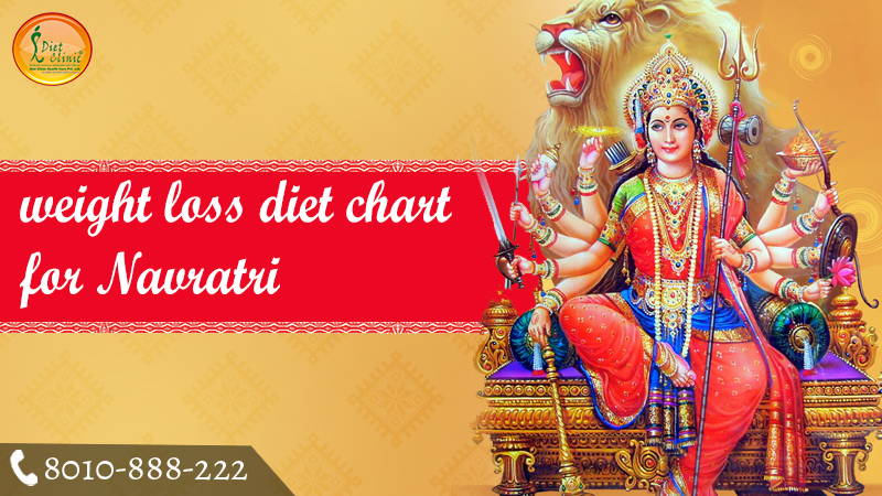 weight loss diet chart for Navratri