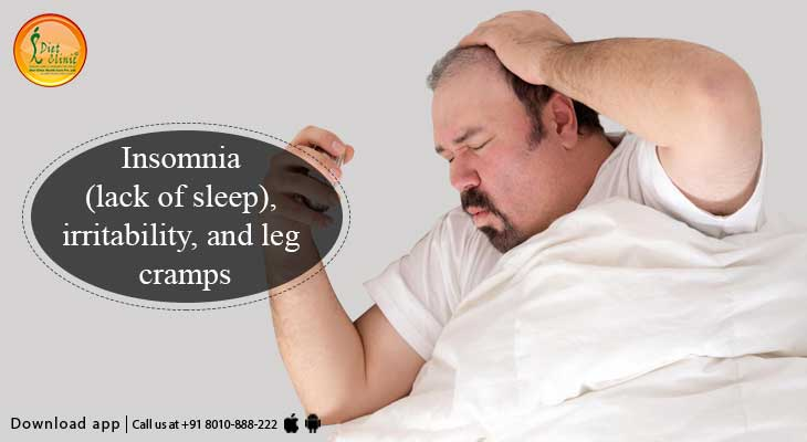 Insomnia Irritability And Leg Cramps