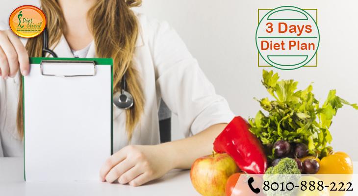 3 Days Diet Plan