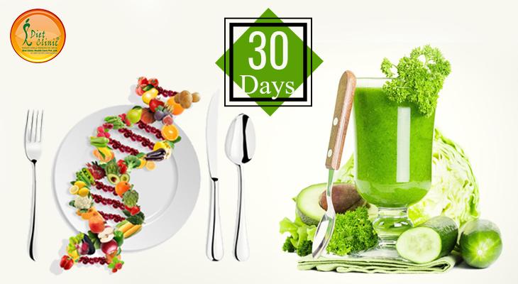 30 DAYS DNA DIET