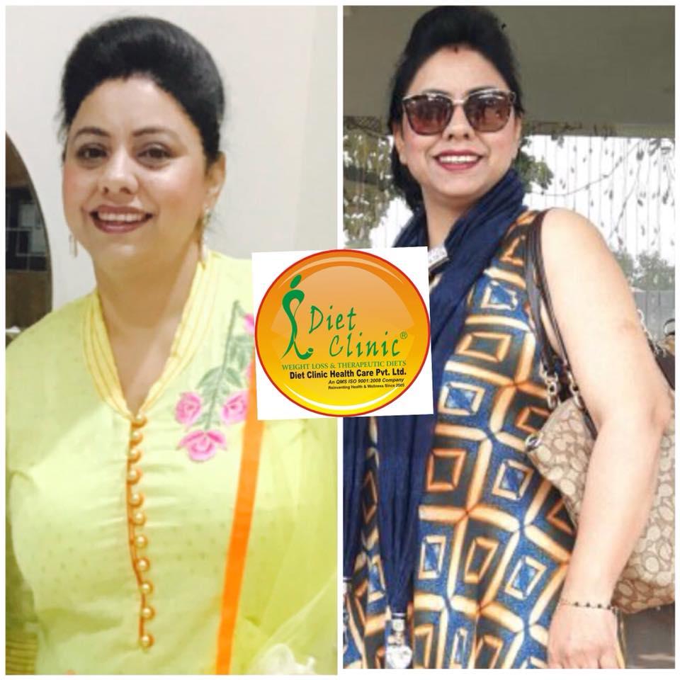 Raveena Walia 10 kg weight loss
