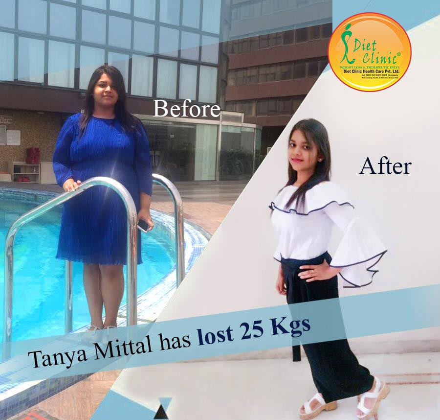 Tanya Mittal 25 kg weight loss