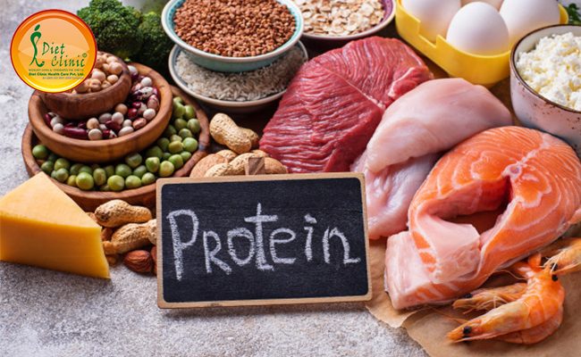 High Protein & low fat containing non vegetarian diet plan for weight loss