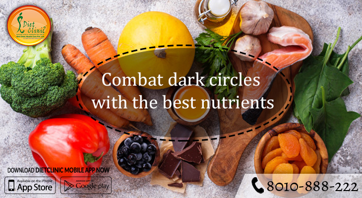Combat dark circles with the best nutrients