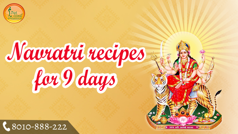 Navratri recipes for 9 days