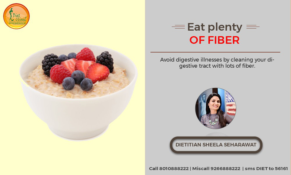 Fibre rich foods for weight loss