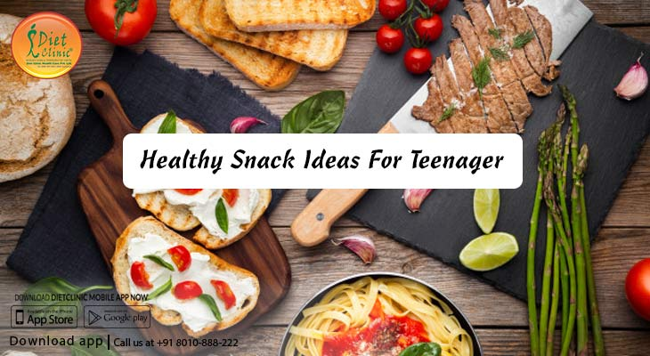 Healthy snack ideas for teenager