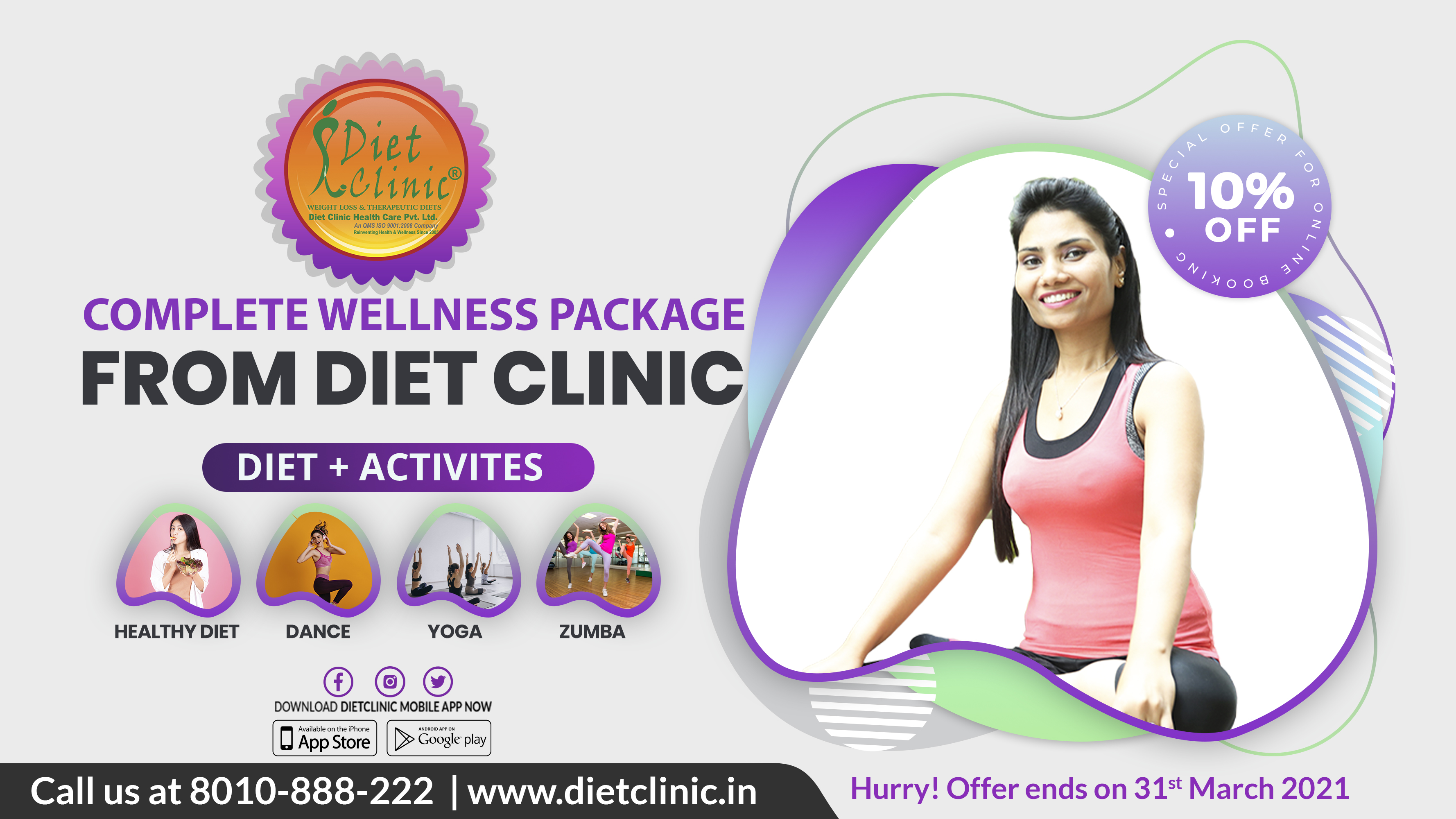 Diet Clinic, yoga diets