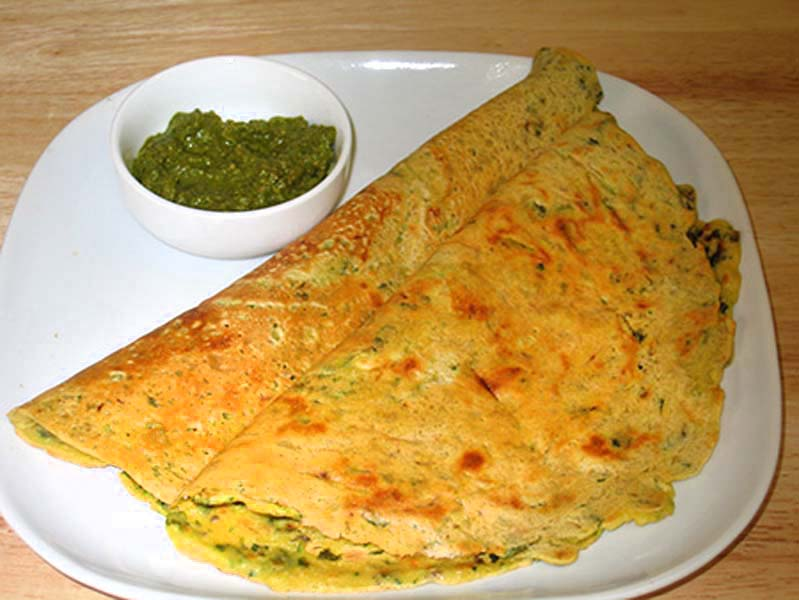 Vegetable bessan chilla