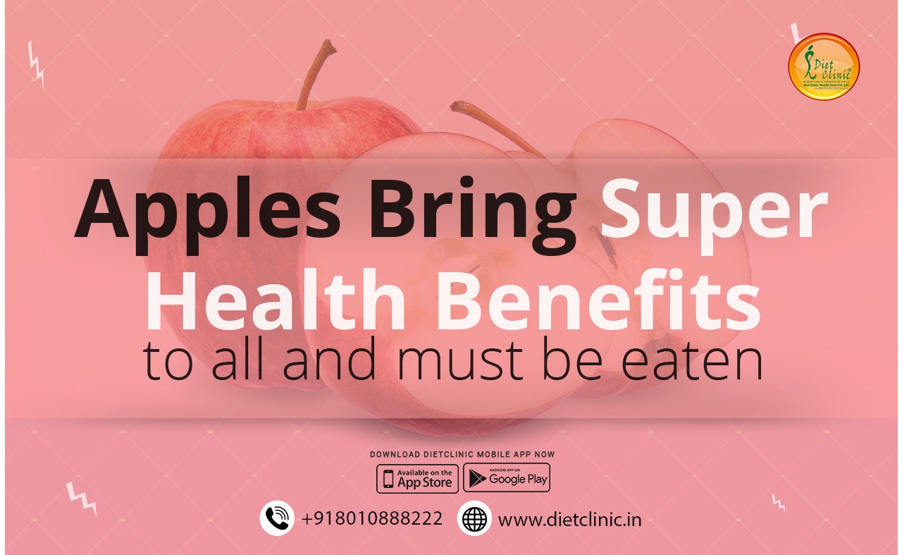 Apples bring super health benefits to all and must be eaten