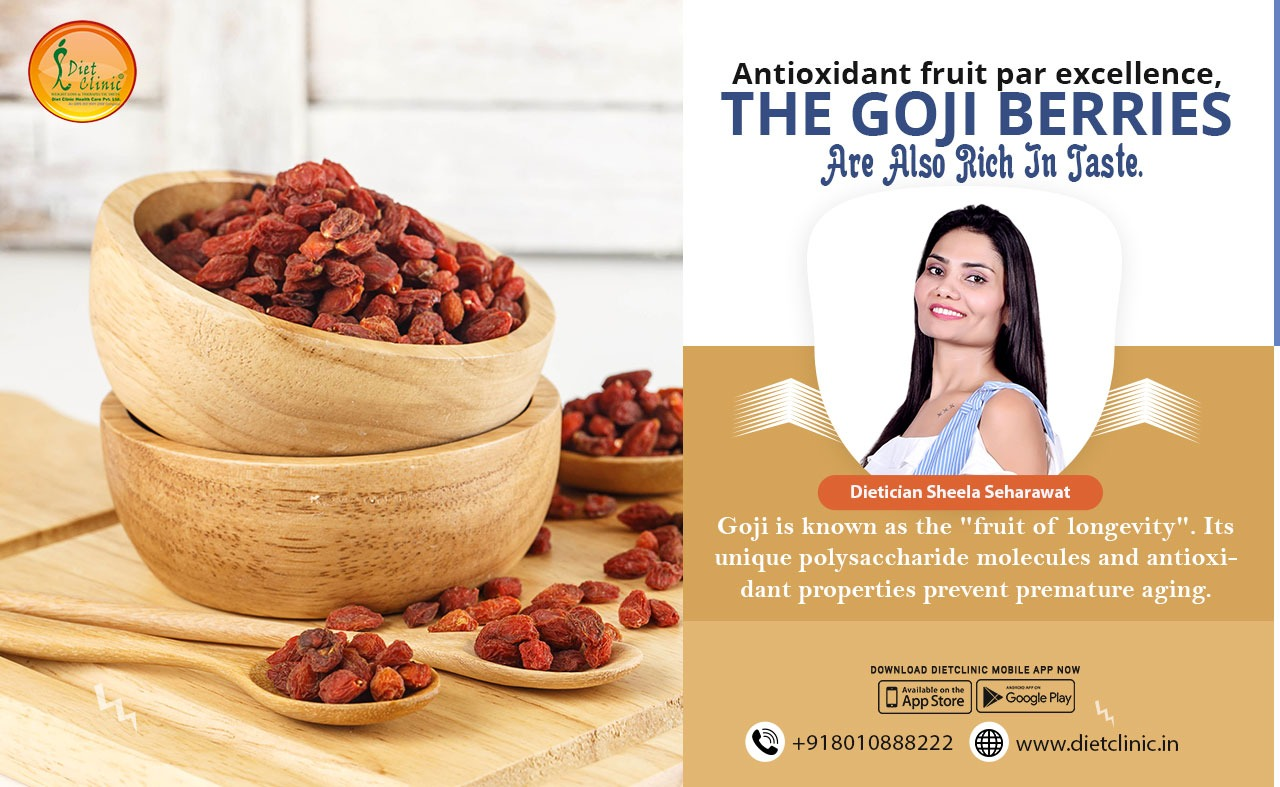 Antioxidant fruit par excellence, the Goji berries are also rich in taste