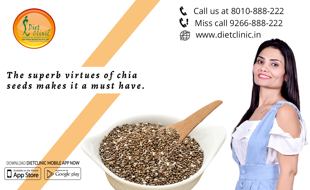 The superb virtues of chia seeds makes it a must have