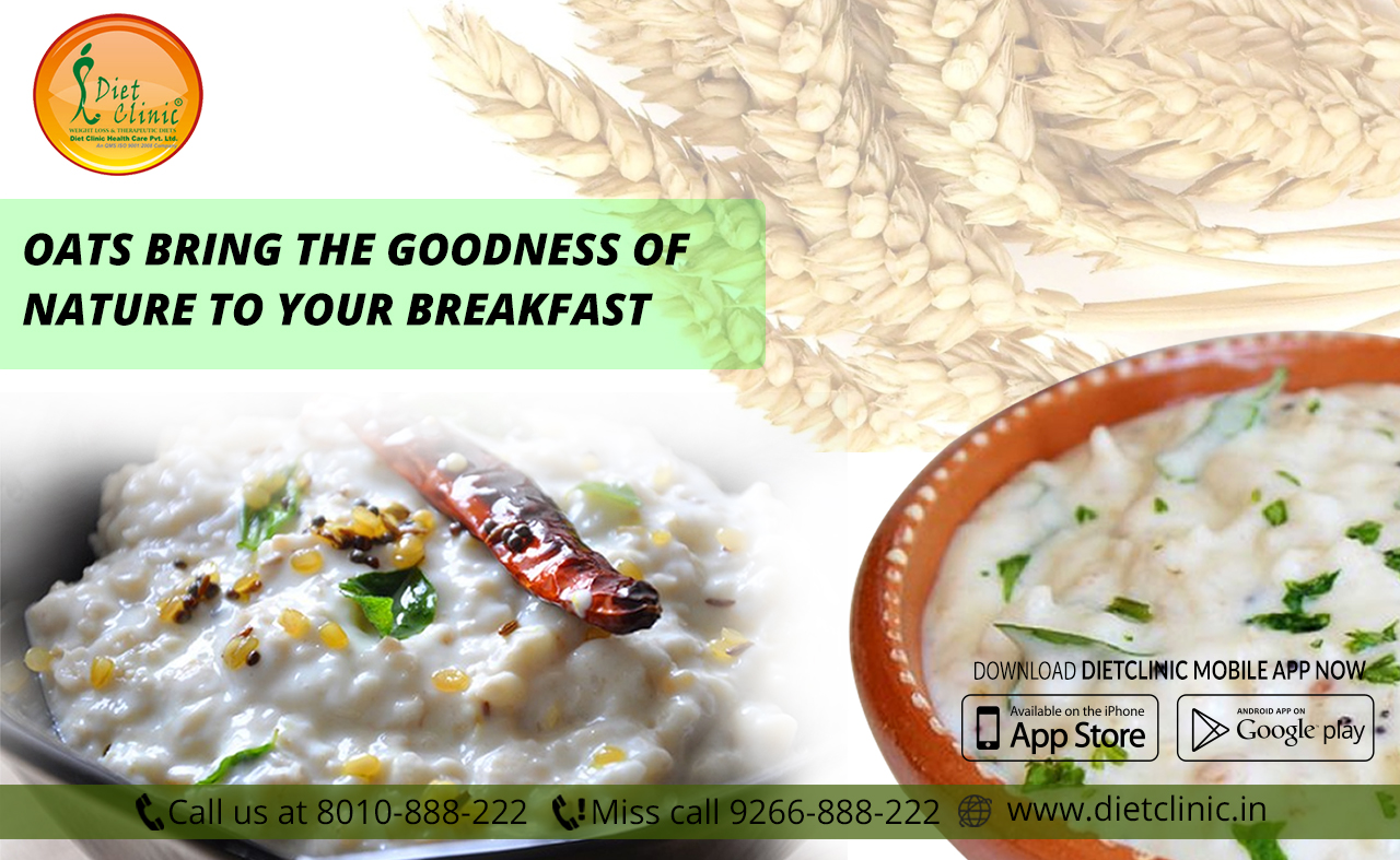 Oats bring the goodness of nature to your breakfast