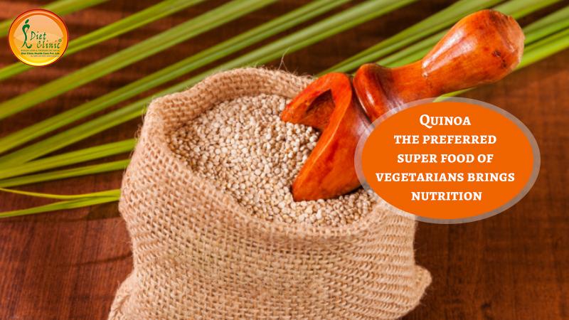 Quinoa the preferred super food of vegetarians brings nutrition