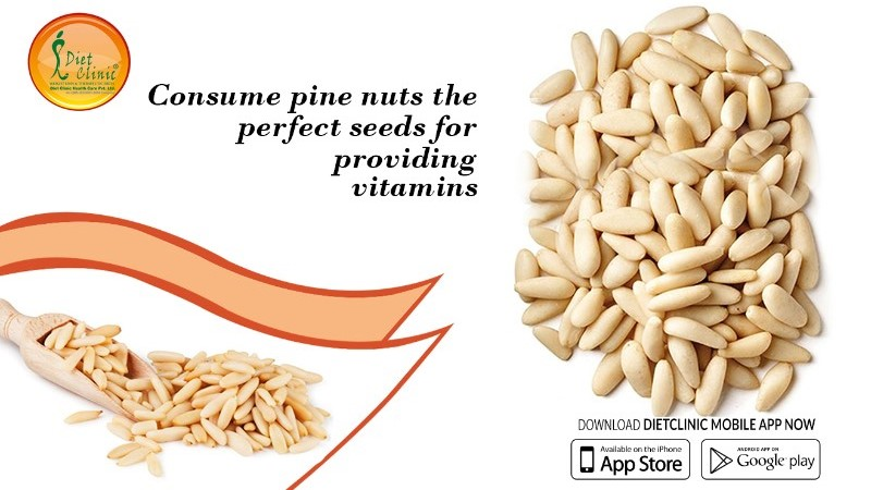 Consume pine nuts the perfect seeds for providing vitamins