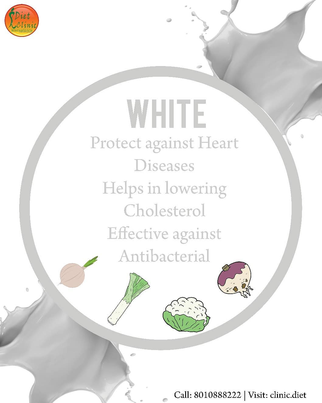 Benefits of White Types Food