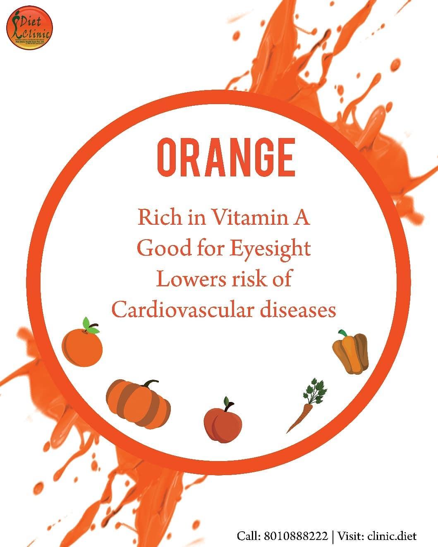 Benefits of Orange Types Food