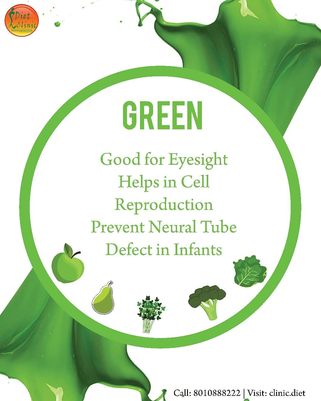 Benefits of Green Types Food