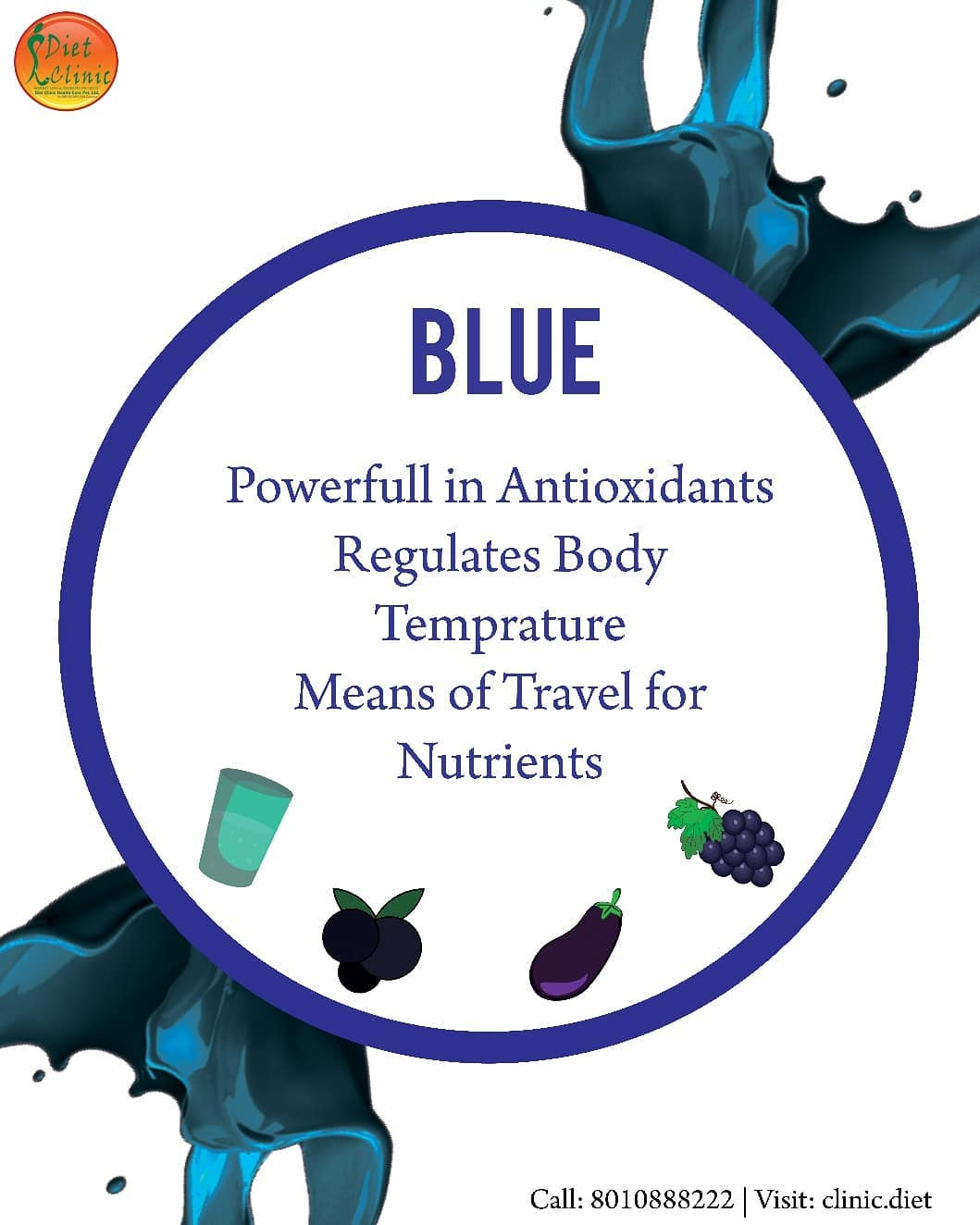 Benefits of Blue Types Food