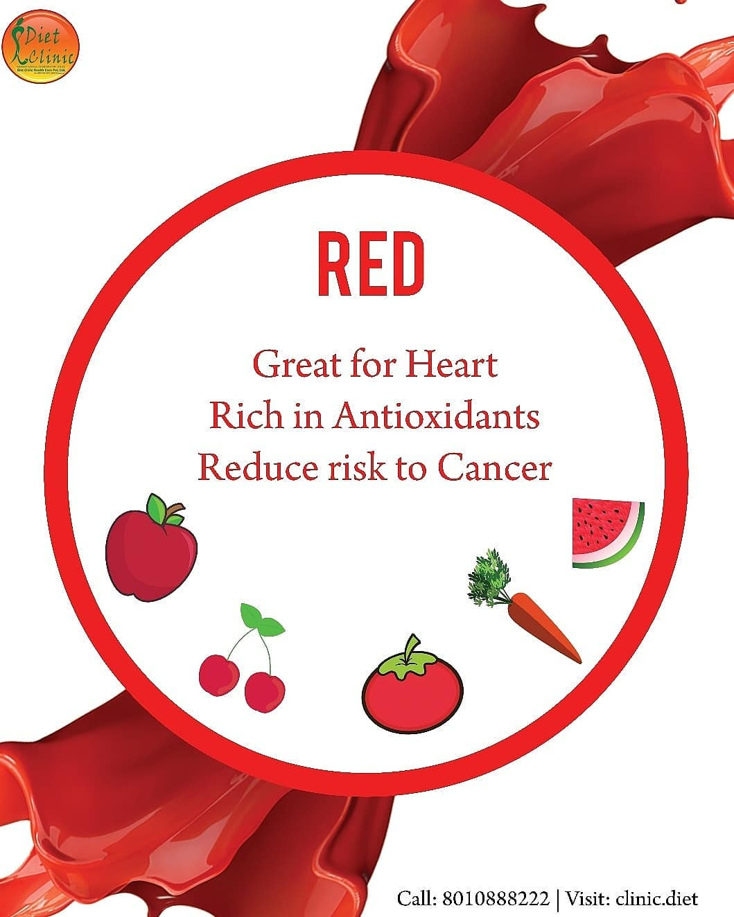 Benefits of Red types of food