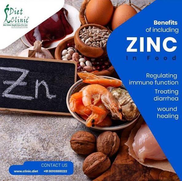 Benefits of Zink in Food