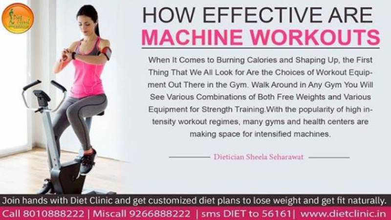 effective are machine workouts