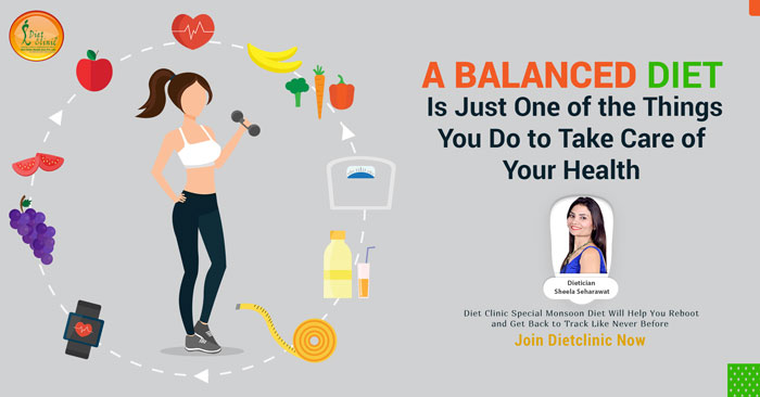 BALANCED YOUR DIET PLAN FOR WEIGHT LOSS