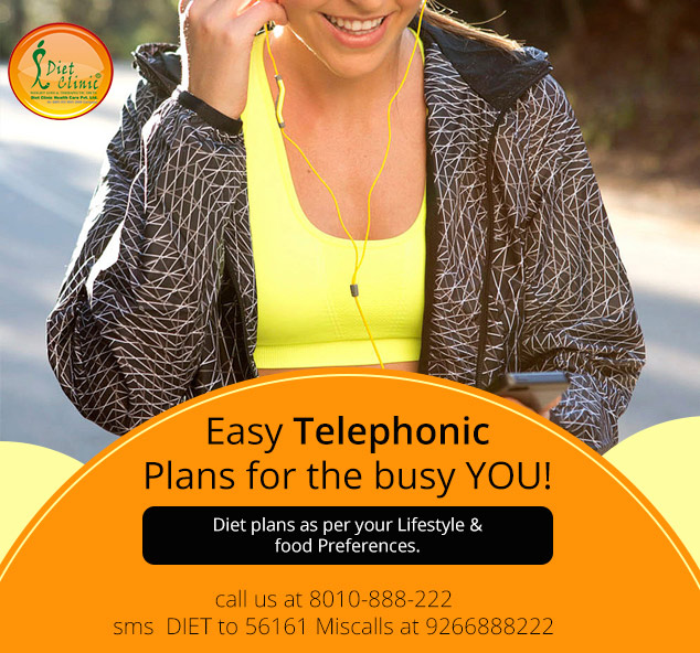 Get telephonic guidance for weight loss