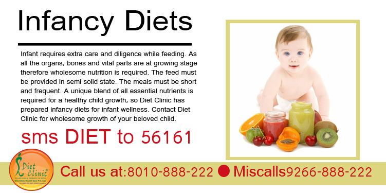 Infancy Diets Packages