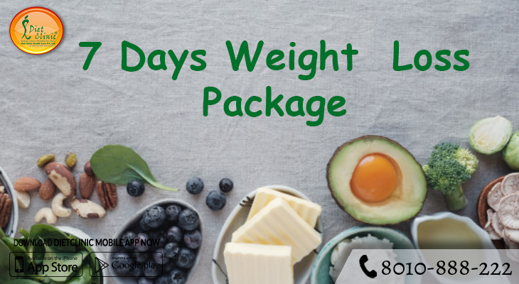 7 Days Keto Diet Package